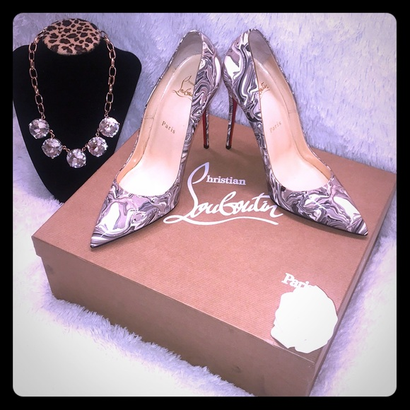 ef441bfd4df Christian Louboutin So Kate 120 Marble Heel Shoe